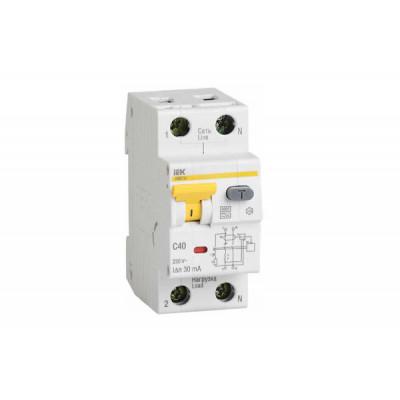 Описание, характеристики, отзывы о   Дифференциальный автомат АВДТ-32 2р С25А/30мА, купить в магазине  или  заказать  онлайн