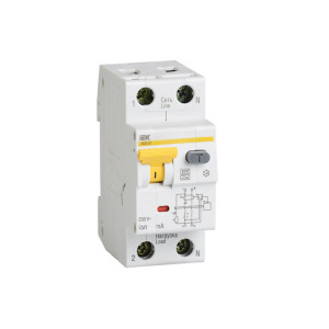 Дифференциальный автомат АВДТ-32 2р B25/10мА
