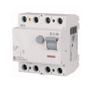 Реле диференційне HNC-63/4/0.03 30мА 4п 63А EATON
