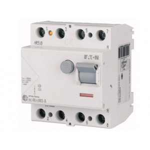Реле диференційне HNC-40/4/0.03 30мА 4п 40А EATON