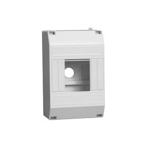 Бокс КМПн1/4 для 2-4-х авт.выкл. наружн.установки ИЭК 125х79х58 мм, без крышки