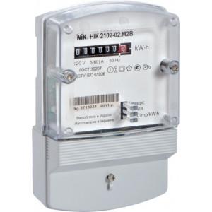Счетчик электрической энергии НІК 2102-02 М2В, 220 В, 5-60 А