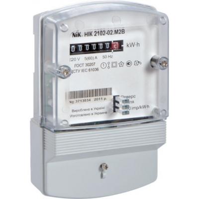 Описание, характеристики, отзывы о   Счетчик электрической энергии НІК 2102-02 М2В, 220 В, 5-60 А, купить в магазине  или  заказать  онлайн