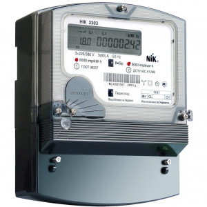 Счетчик электрической энергии НІК 2303 L АП3Т, 1000, 3х220/380В (5-120А)