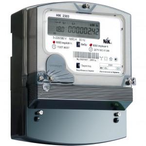 Счетчик эл. энергии НІК 2303 АП3, 220/380 В, 5-120 А
