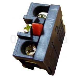 Блок-контакт  ZB2-BE102 1 Н.З. контакт для постов АСКО