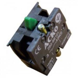 Блок-контакт  ZB2-BЕ101, 1 Н.О  контакт для кнопок АСКО