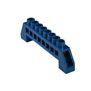 Клеммник зануления в пластиковом корпусе ВС-6А 08 8 отв (6*9мм)  АсКо