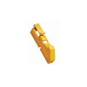 Изолятор DIN желтый ИЭК