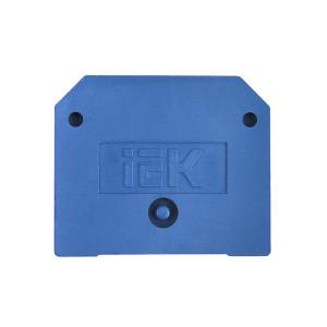 Заглушка для ЗНИ 10мм2 (JXB70A) синяя ИЭК