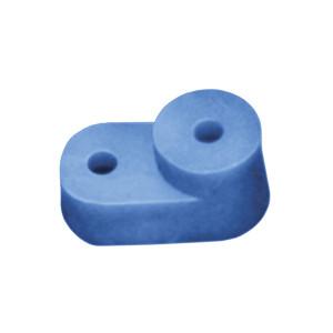 Изолятор угловой для 0 шины синий ИЕК