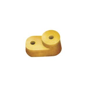 Изолятор угловой для 0 шины желтый ИЕК