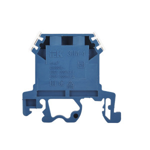 Зажим набірний ЗНИ-4мм2 (JXB35A) синій ІЕК