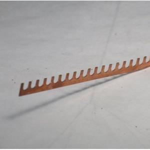 Шина KS- 1/56 (вилка) 1-полюсн. АВВ неизол.