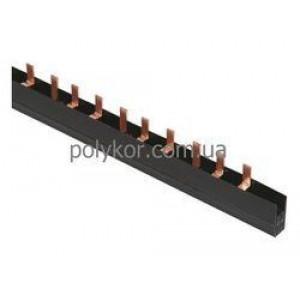 Шина PIN 3Р 100А крок 27 мм (длина 1м) ИЭК