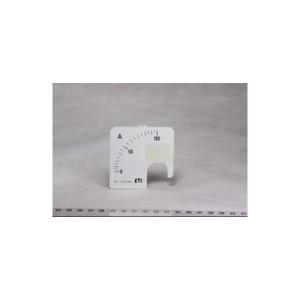 Шкала сменная для амперметра FQ0307 0-100 А 72х72мм ETI