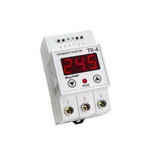 Терморегулятор одноканальный ТК-4 Энергохит DIN