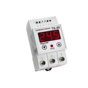 Терморегулятор одноканальный ТК-4к датчик ТХА Энергохит DIN