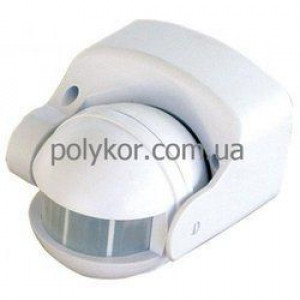 Датчик движения DELUX YCA1009 180* белый IP 44