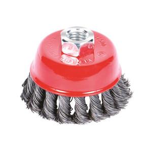 Щетка SIGMA стальная чашеобразная болгарка 65мм 9026061