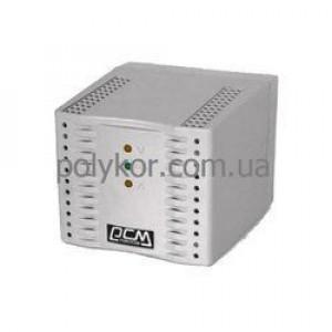 Стабилизатор Powercom TCA-1200 600Вт чорний