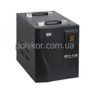 Стабилизатор однофазный СНР1-0- 5 кВА электронный переносной ІЕК