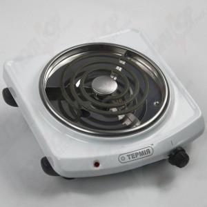 Электроплитка ЭПТ 1-1,0/220 с (белая) узкая спираль