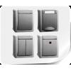 VI-KO PACIFIC серый IP54 влагозащищённая серия