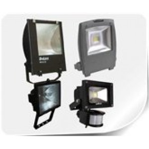Светильники и прожектора, датчики движения